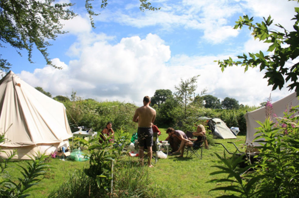 A small camping group - Northlodge eco-camping