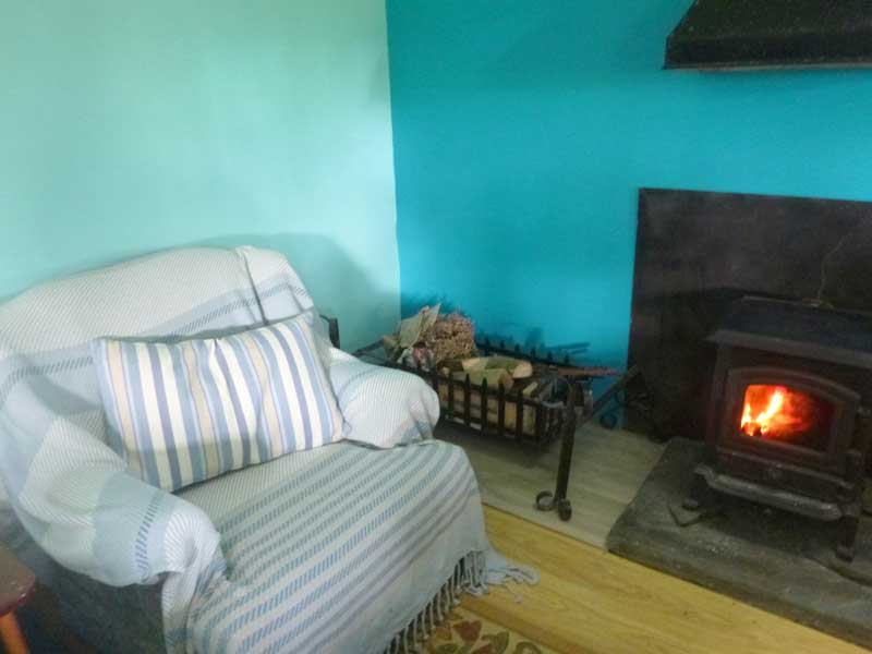 Preseli cabin interior - Northlodge eco-camping